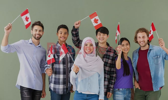 How many people immigrate to Canada?
